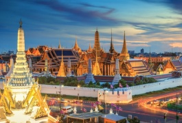泰国曼谷芭提雅六天游-曼谷机场接送机(TH6)
